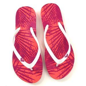 VGUC Roxy Hot Pink Flip Flops Size 9